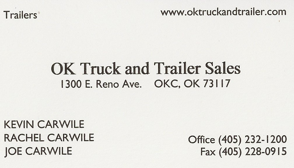 OK Truck and Trailer Sales