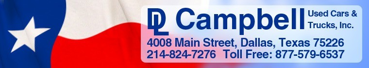 D.L. Campbell Used Cars  and  Trucks, Inc.