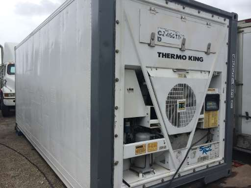 1998 THERMOKING CONTAINER Equipment Trailer