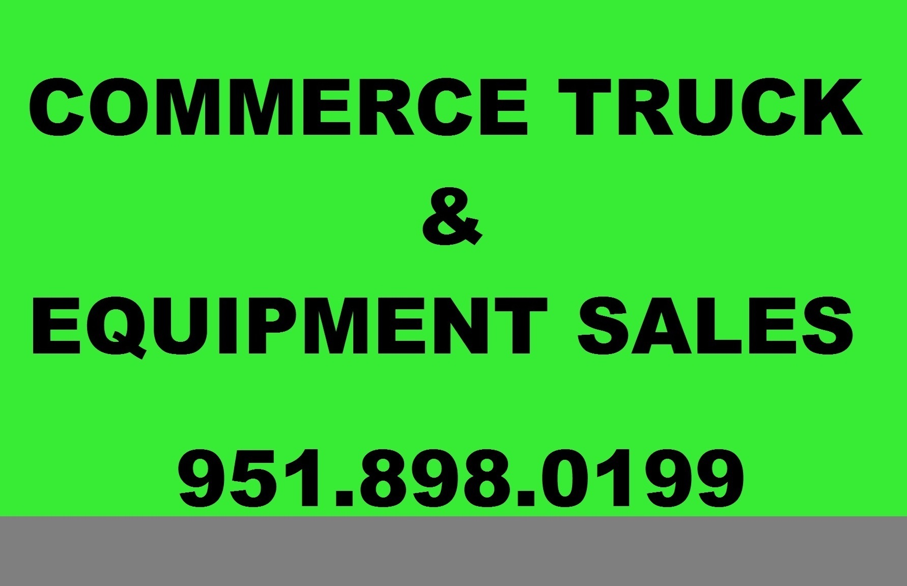 Commerce Truck  and  Equipment Sales