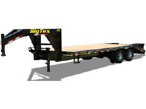 2016 BIG TEX TRAILERS 20GN Equipment Trailer, Miami FL - 115164469 - CommercialTruckTrader.com