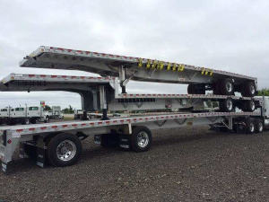 2017 REITNOUER, INC TRAILER Drop Deck, Saginaw MI - 118869428 - CommercialTruckTrader.com