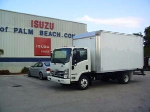 2017 ISUZU NPR Box Truck - Straight Truck, Riviera Beach FL - 117518856 - CommercialTruckTrader.com