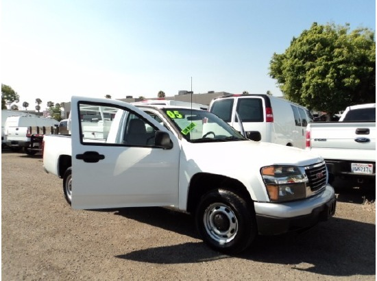 2005 GMC CANYON Pickup Truck ,San Diego CA - 119536031 - CommercialTruckTrader.com