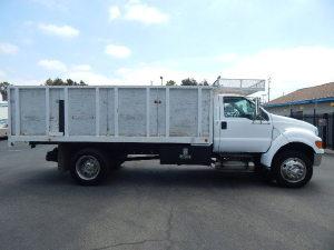 2008 FORD F650 Dump Truck, La Mirada CA - 122249501 - CommercialTruckTrader.com
