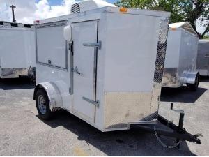 2018 FOREST RIVER TRAILER Cargo Trailer, Miami FL - 122472992 - CommercialTruckTrader.com