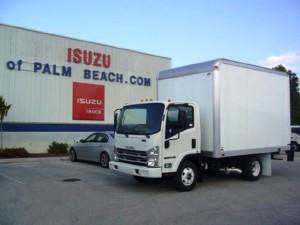 2017 ISUZU NPR Box Truck - Straight Truck, Riviera Beach FL - 117518825 - CommercialTruckTrader.com