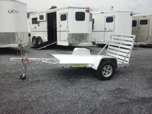 2018 Aluma 54x8 Utility Trailer, LEXINGTON VA - 123084803 - CommercialTruckTrader.com
