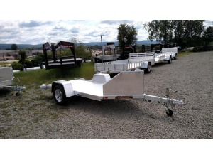 2018 Aluma MC10 Motorcycle Trailer, MT. PLEASANT PA - 123087349 - CommercialTruckTrader.com