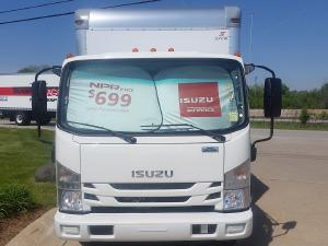2018 ISUZU NPR-HD Box Truck - Straight Truck, Shorewood IL - 123211009 - CommercialTruckTrader.com