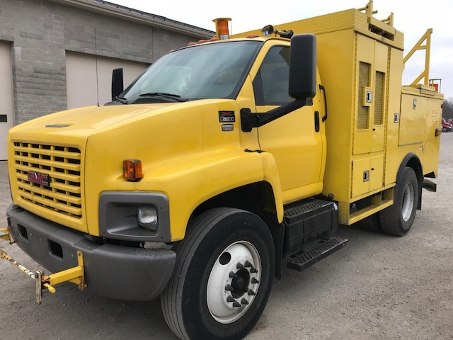 Used, 2006, GMC, C8500, Utility Truck - Service Truck