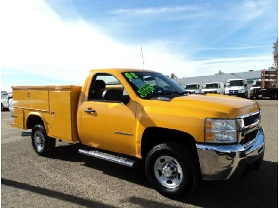 2008 CHEVROLET SILVERADO 2500HD Utility Truck - Service Truck ,San Diego CA - 5001215951 - CommercialTruckTrader.com