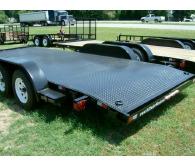 2017 American 18'  CH18S* 6'10x18' steel deck , 4 tie downs, 5000 lb - CommercialTruckTrader.com