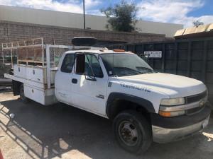 2001 Chevrolet C3500 WORK TRUCK Flatbed Truck San Diego CA