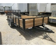 2017 Other 7 x 16 ft. TA 3-Board High Side Tube Top - CommercialTruckTrader.com