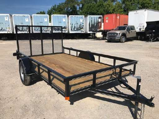 2018 P And T Trailers Utility A Frame FLATBED TRAILER