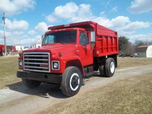 1988 International Dt 466 Dump Truck