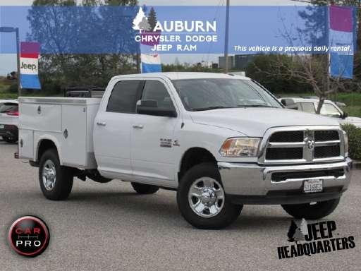 2017 Ram 3500 Utility Truck Service In Auburn Ca