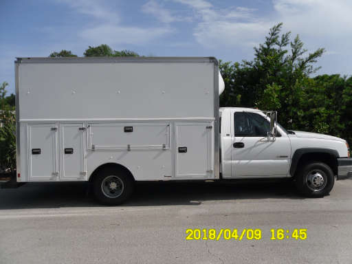 2007 AND UP CHEVY SILVERADO CAMPER SHELL SILVERADO 3500