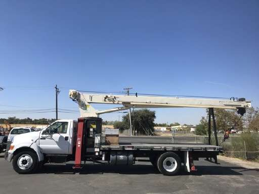 Crane Truck For Sale >> Flatbed Trucks For Sale On Commercialtrucktrader Com