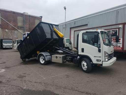 2019 ISUZU NPR HD Roll Off Truck