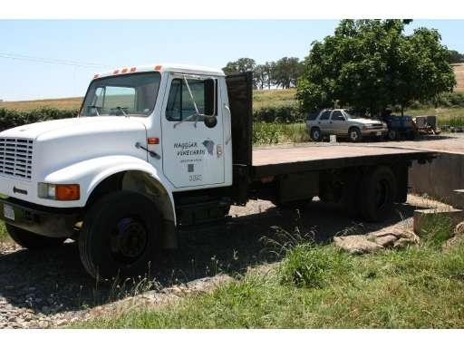 Flatbed Truck For Sale >> 1999 International 4900