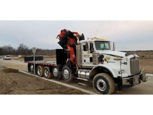 Crane Truck For Sale >> 2004 Kenworth T800 Crane Truck