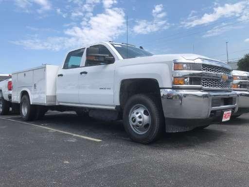 2019 Chevrolet Silverado 3500hd Utility Truck Service Truck Mechanics Truck Plumber Service Truck