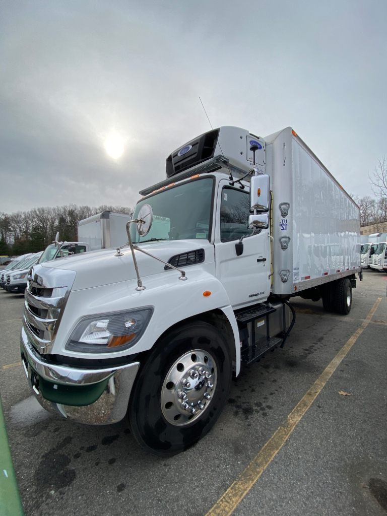 Used, 2019, HINO, 338, Reefer/Refrigerated Truck