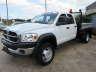 2009 DODGE RAM 5500 FLATBED CRANE TRUCK, Truck listing