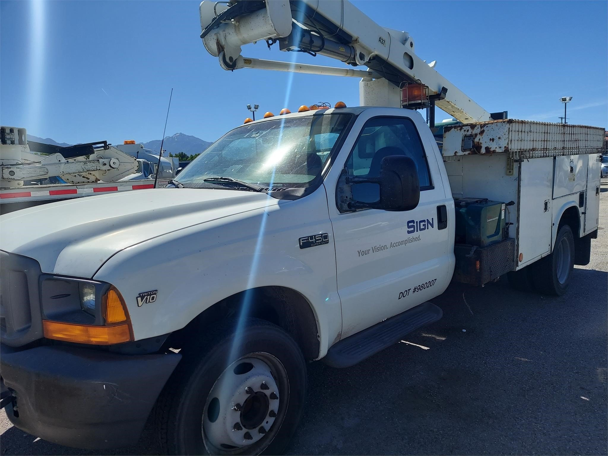 Used, 2001, FORD, F450, Utility Truck - Service Truck