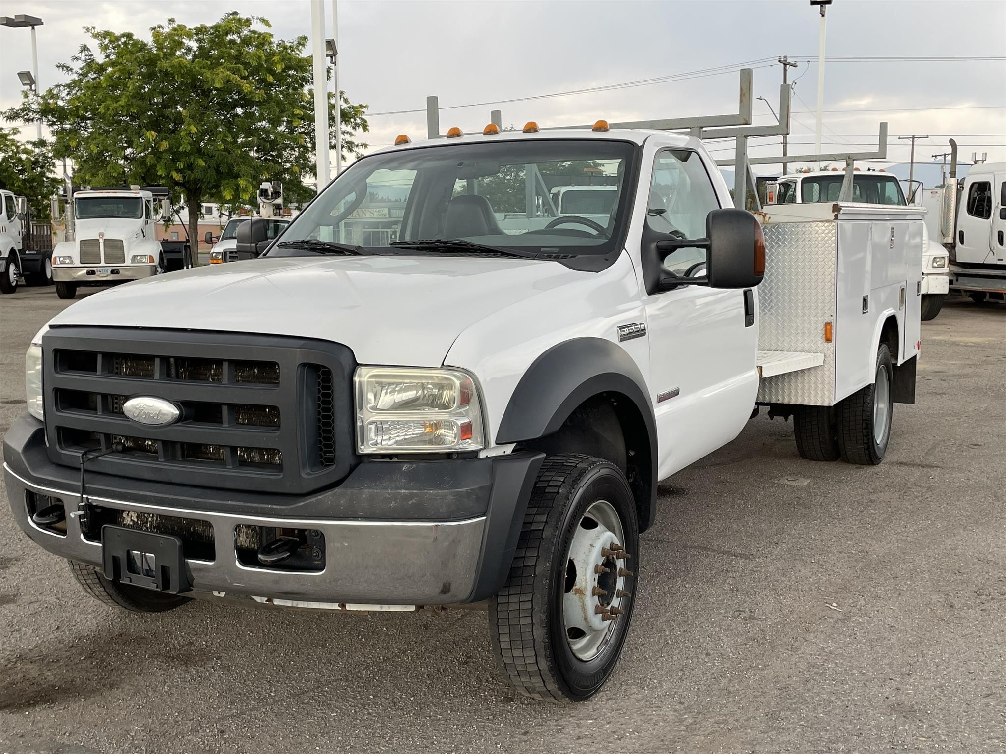 Used, 2007, FORD, F550, Utility Truck - Service Truck