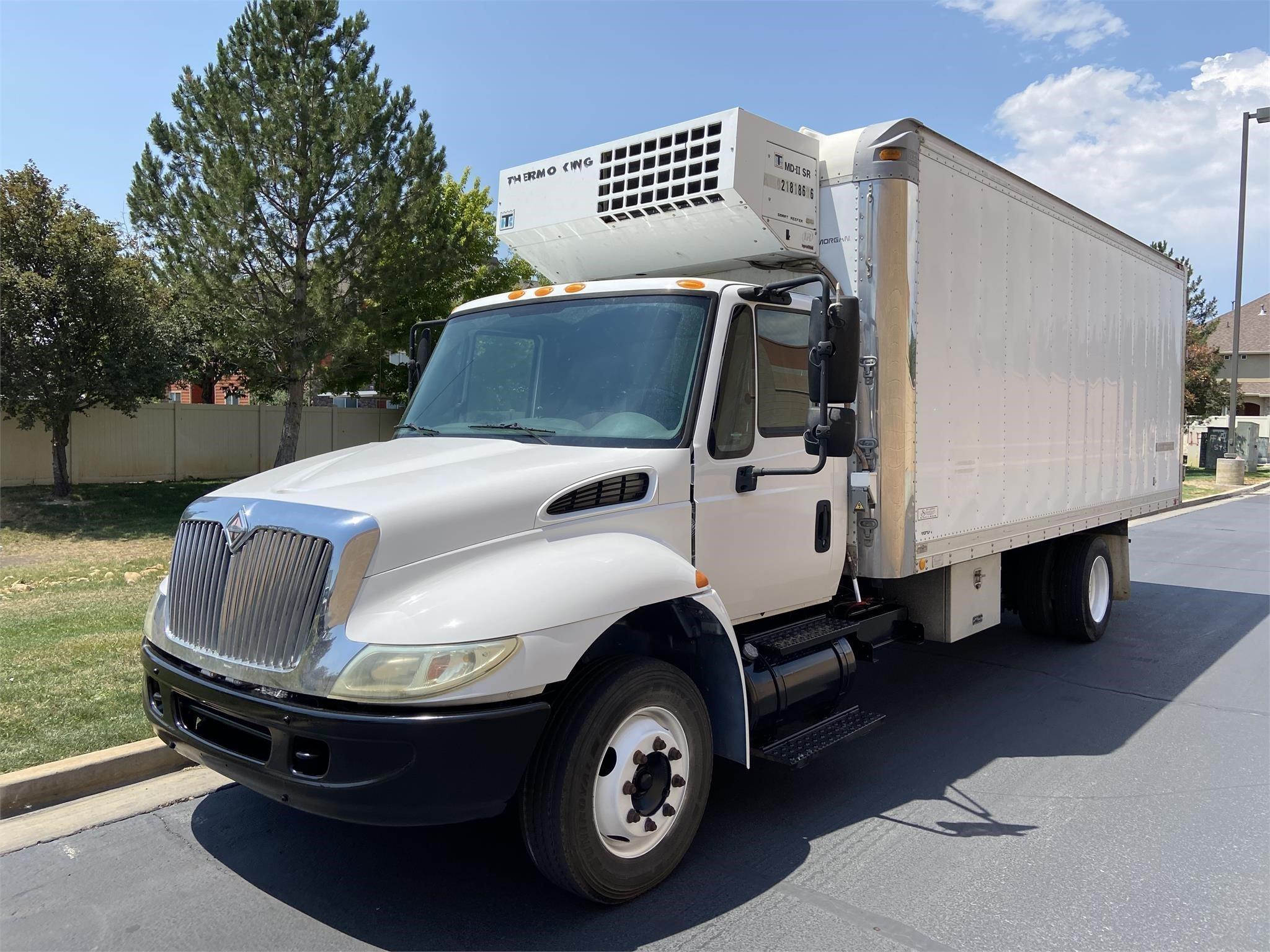 Used, 2003, INTERNATIONAL, 4000, Reefer/Refrigerated Truck