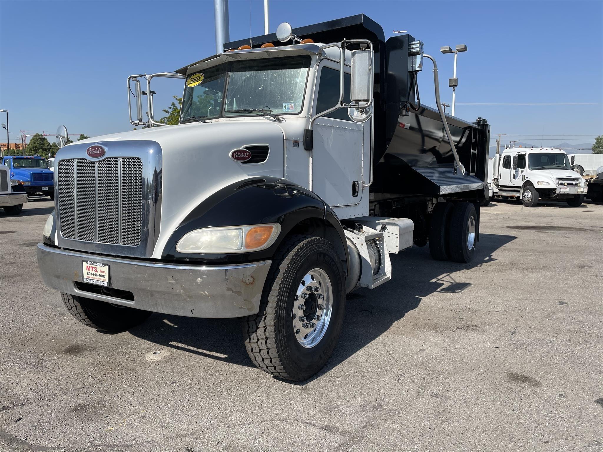 Used, 2008, PETERBILT, 335, Dump Truck