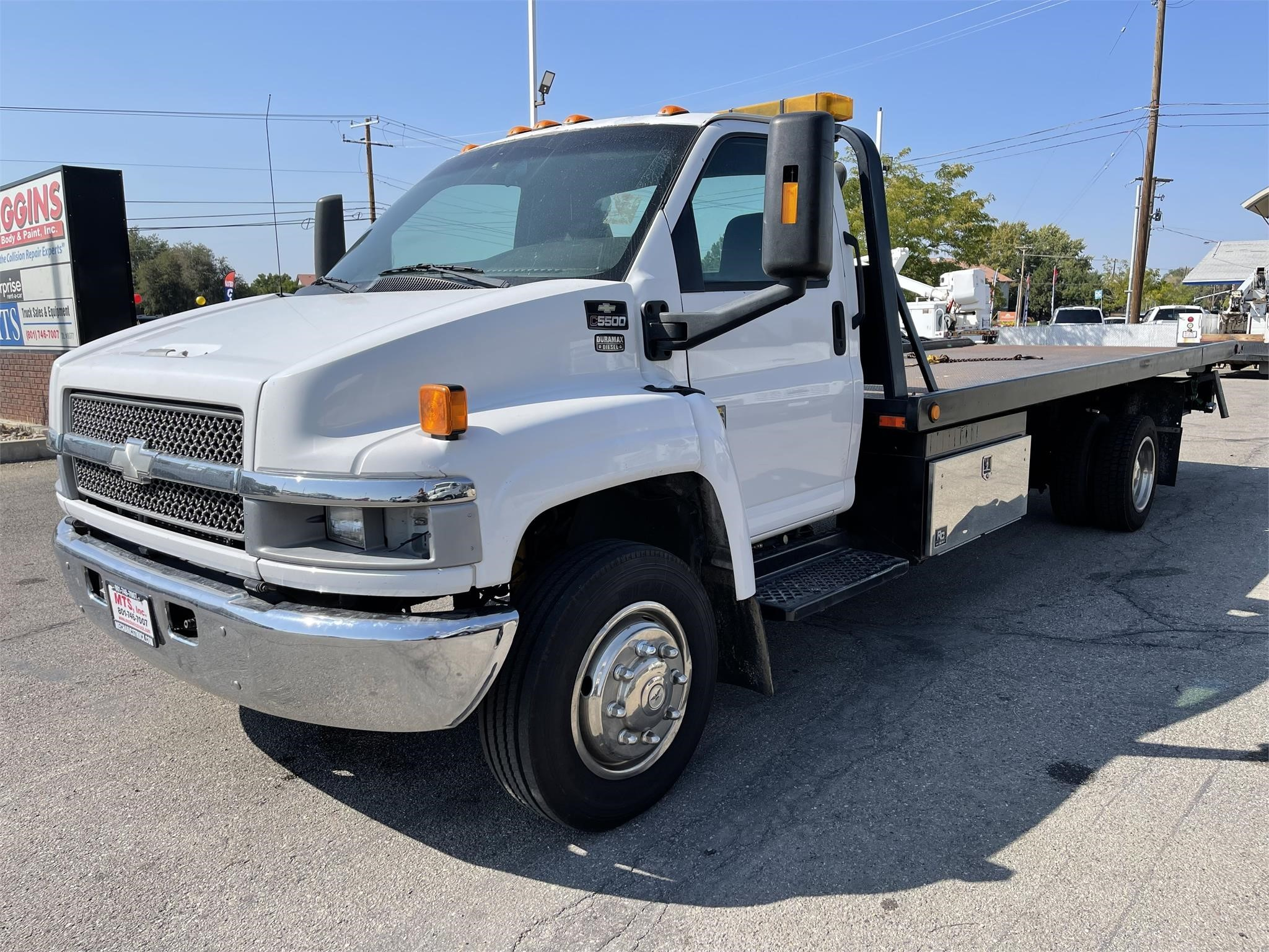Used, 2005, CHEVROLET, C5500, Rollback Tow Truck